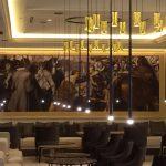 Atrezzo. Marcos para cuadros de tamaño mural para importante hotel de gran lujo en Madrid.