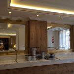 Arte y atrezzo. Marcos para grandes espejos para importante hotel de gran lujo en Madrid.