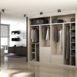 Interiores de armario en Madrid diseñado a gusto del cliente.