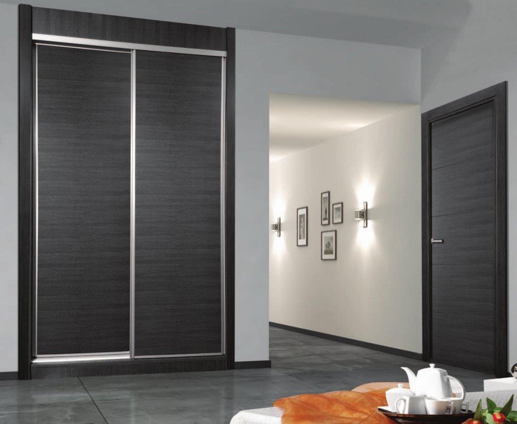 Armarios a medida en madrid carpintero mata ebanista - Interiores armarios empotrados puertas correderas ...