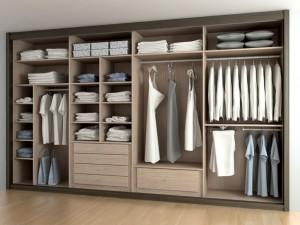 Interiores de armarios a medida en Madrid a gusto del cliente.