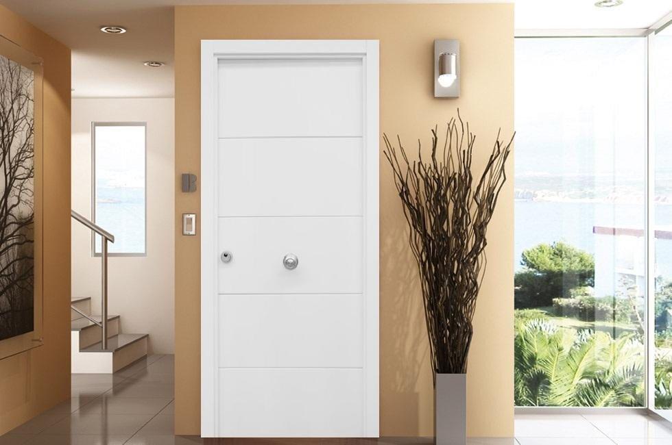 Puertas blindadas carpintero mata ebanista for Precio puertas blancas