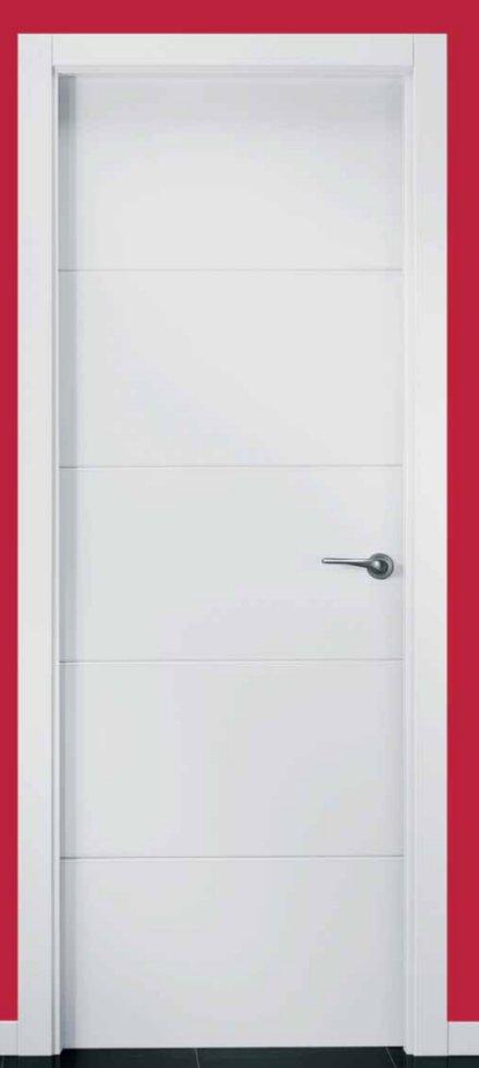 Puertas blancas precios perfect puertas lacadas blancas for Puerta blindada blanca