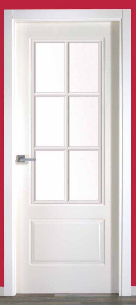 finest puertas de interior en madrid con fresado en blanco with puertas interiores con cristal