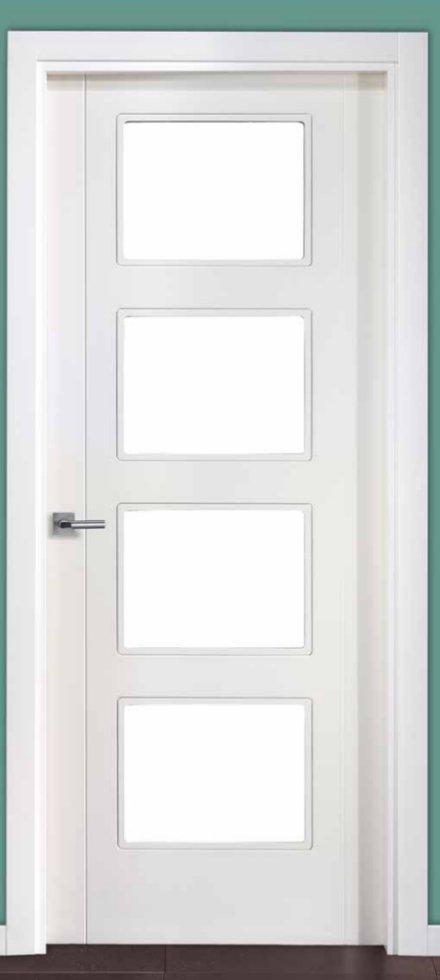Puertas blancas precios latest puerta exterior moderna - Puertas de interior blancas precios ...