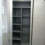 Muebles de cocina estantería diseñado a gusto del cliente.