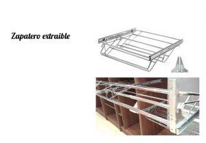 Zapateros extraíbles. Complementos para armarios y muebles III