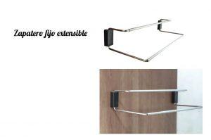 Zapateros fijos extensibles. Complementos para armarios y muebles III.