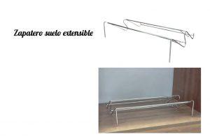 Zapateros de suelo extensibles. Complementos para armarios y muebles III.