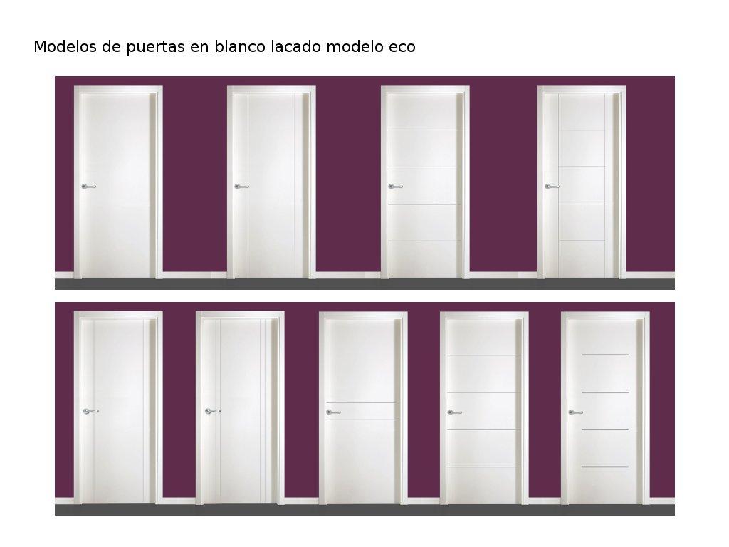 Novedades en modelos de puertas de interior i carpintero for Modelos de puertas y precios