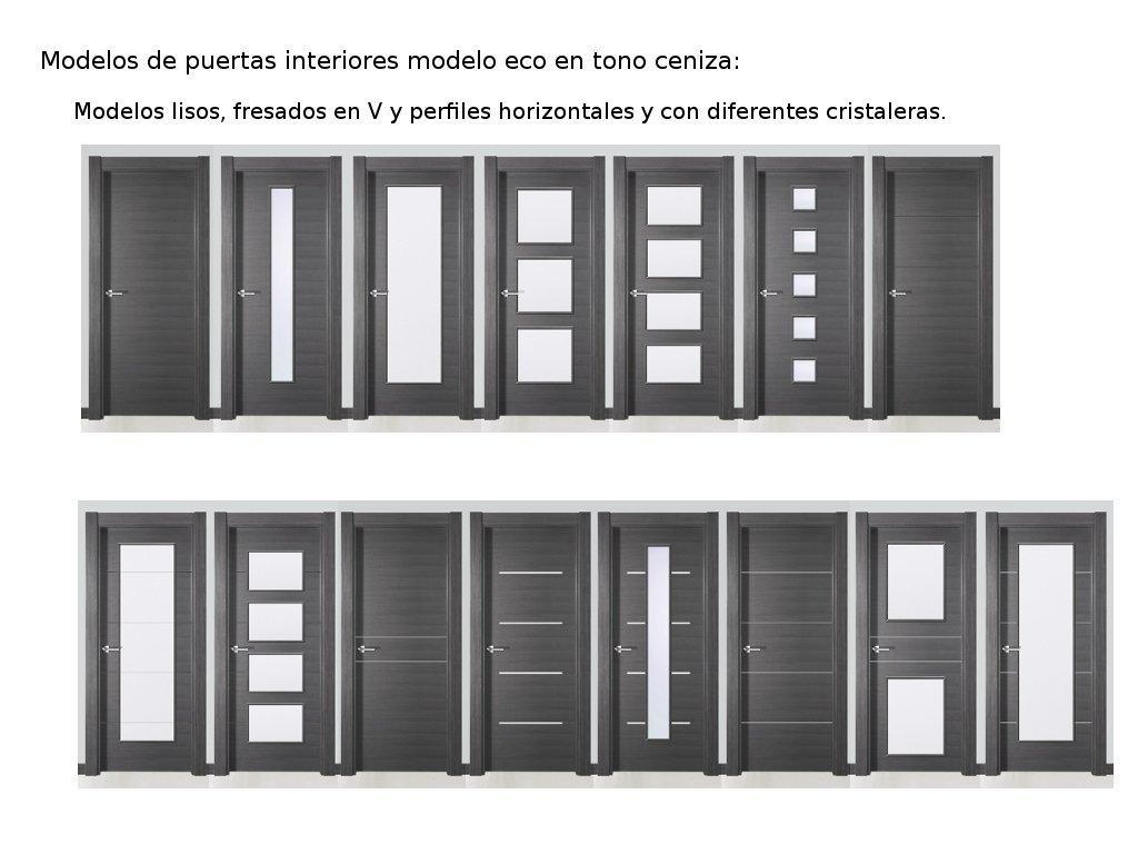 Novedades en modelos de puertas de interior i carpintero for Ver modelos de puertas