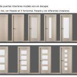 Novedades en puertas de interior. Modelos de puertas de interior económicas en decape