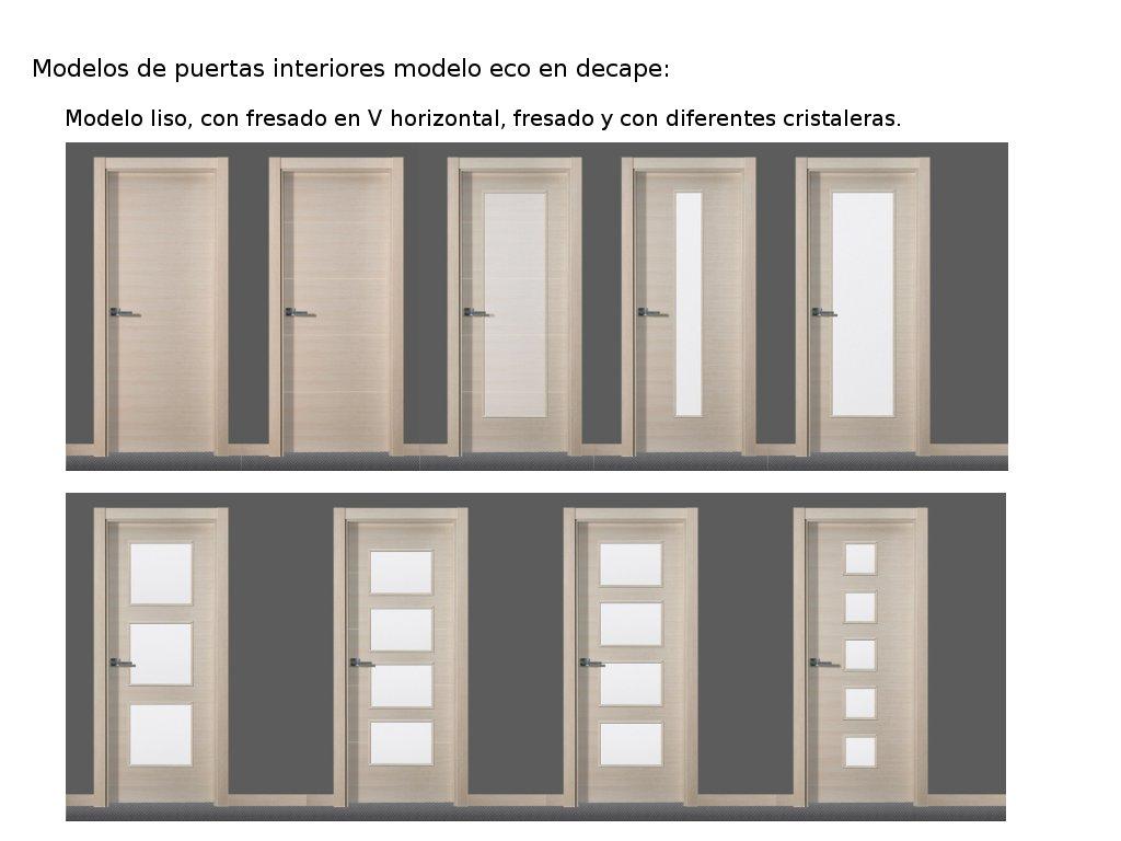 Novedades en modelos de puertas de interior i carpintero - Puertas de casa interior ...