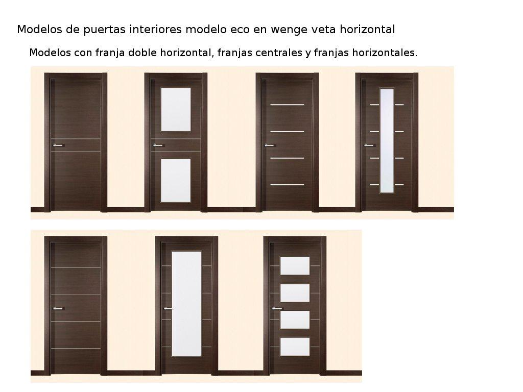 Novedades en modelos de puertas de interior i carpintero - Modelo de puertas de aluminio ...