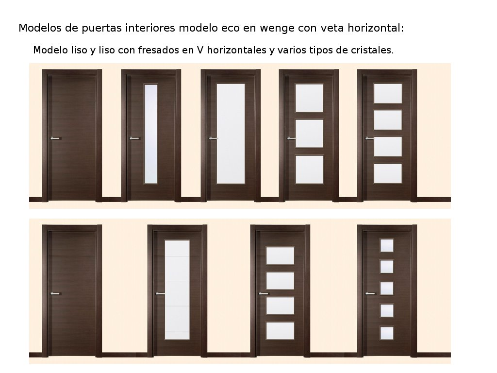 Tipos de puertas de interior puertas interiores de madera for Tipos de puertas de interior