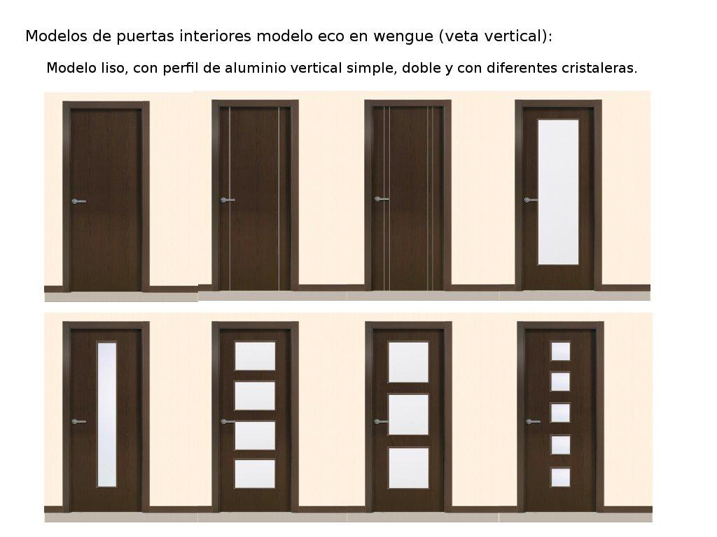 Puertas de interior de aluminio puertas de interior de for Puertas de madera interiores
